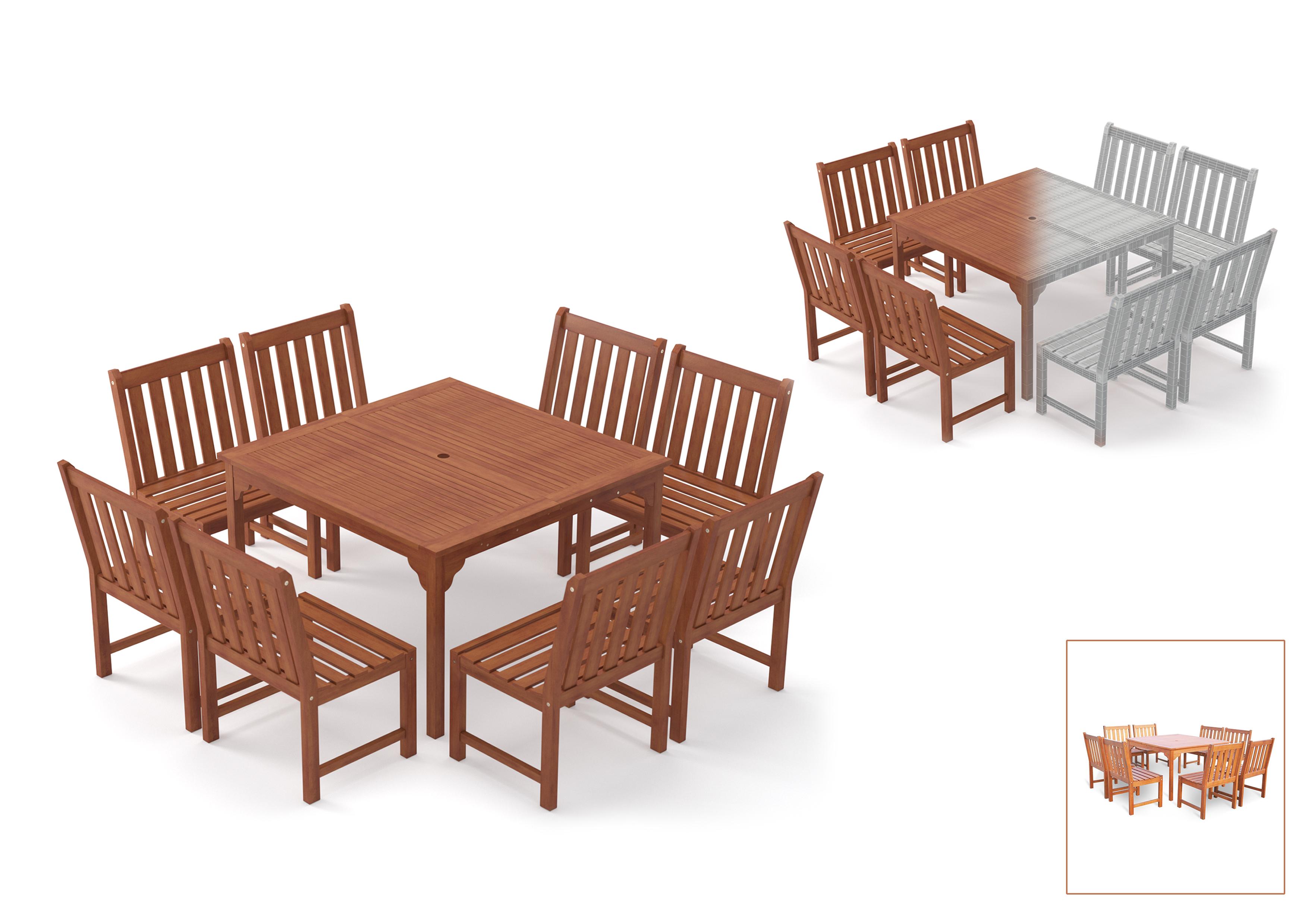 3D Furniture Modeling - 1
