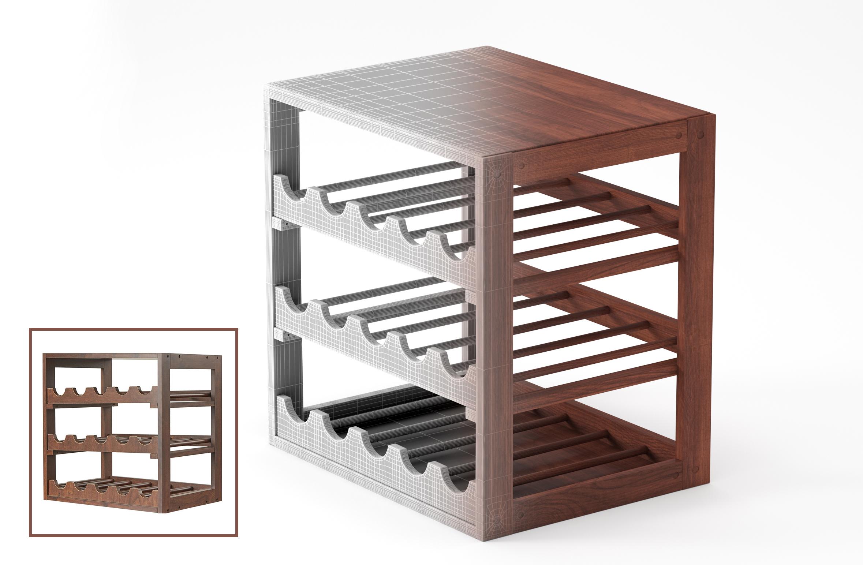 3D Furniture Modeling - 6