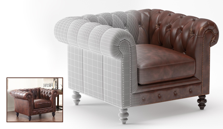 3D Furniture Modeling - 7