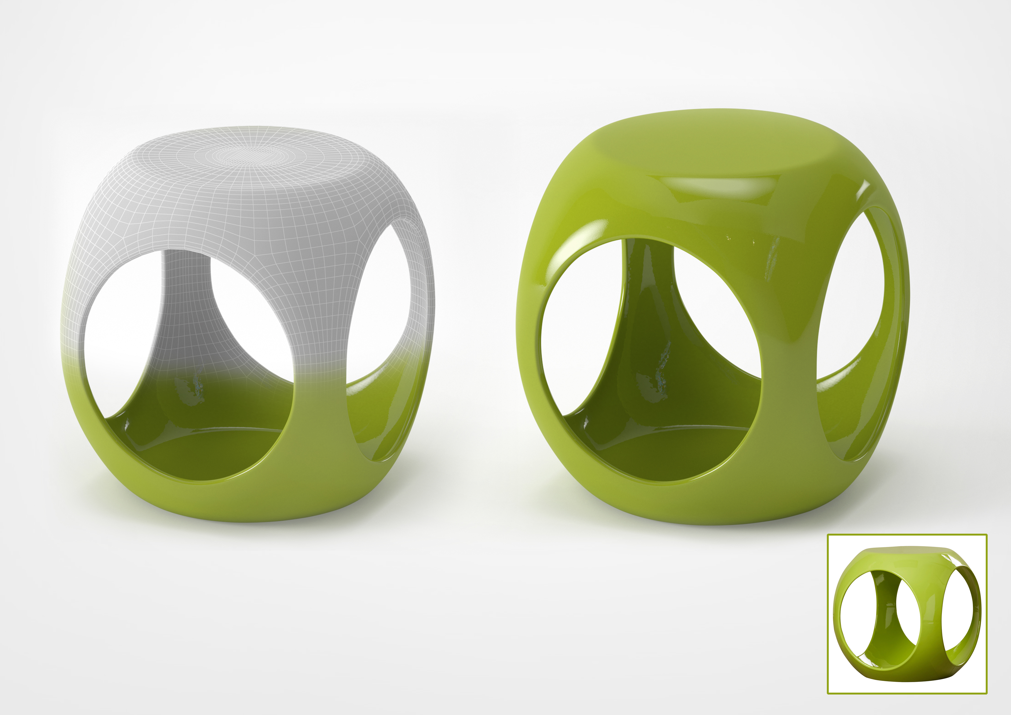 3D Furniture Modeling - 10