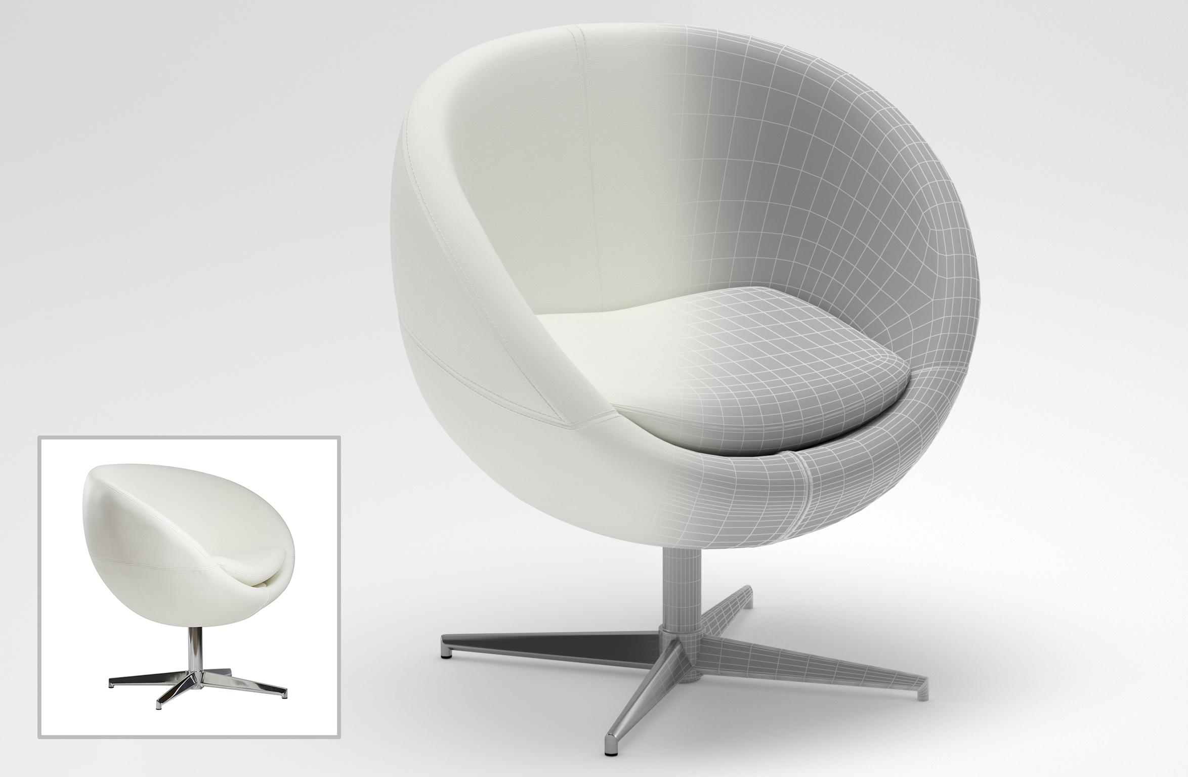 3D Furniture Modeling - 14