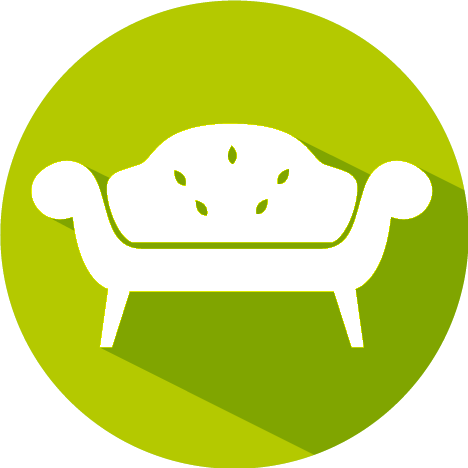 3D Furniture Modeling Icon