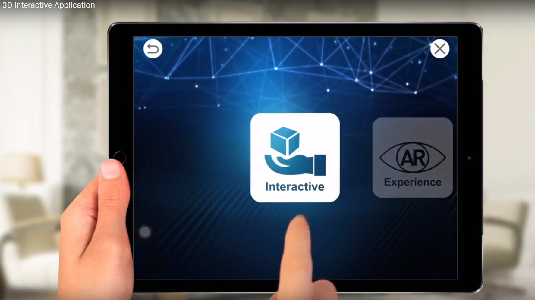 3D Interactive Application