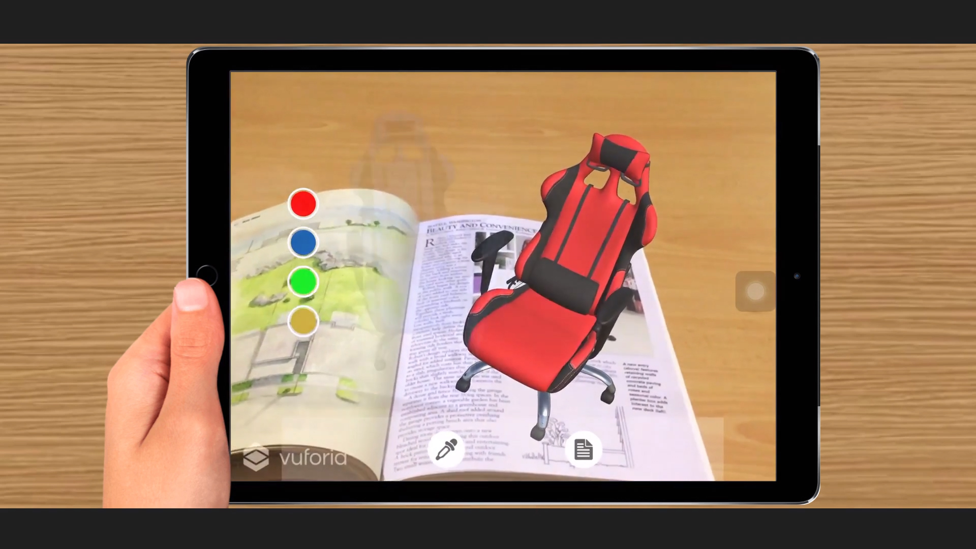 Augmented Reality (AR) Application